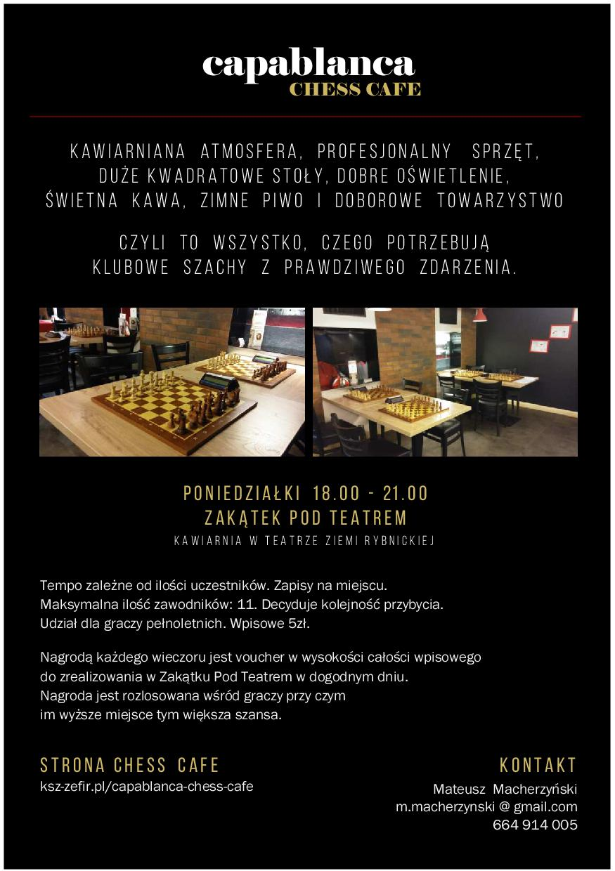 CAPABLANCA CHESS CAFE