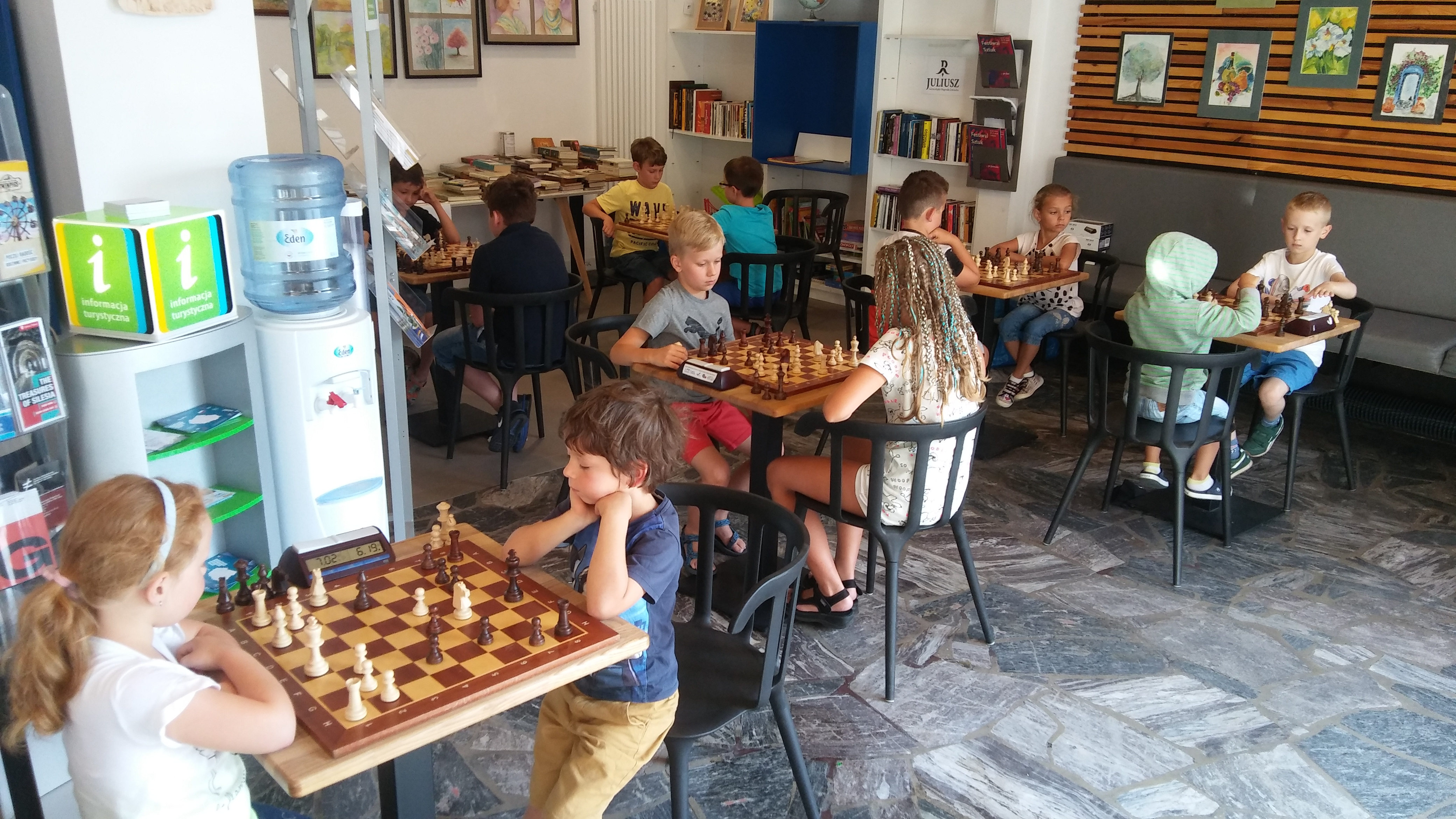 CHESS CAFE JUNIOR III - 15.07.2019